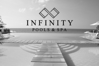 00 Perrin Roux Infinity Pools and Spa Poster