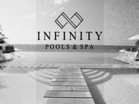 00 Perrin Roux Infinity Pools and Spa Poster Large