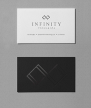06 Perrin Roux Infinity Pools Stationery Business Cards